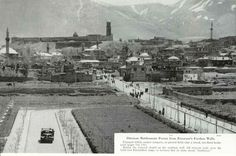 1930 yılları Erzurum istayon caddesi henüz açılmışken