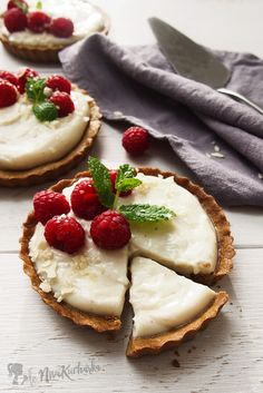 Tartaletky s vanilkovým krémom a ovocím