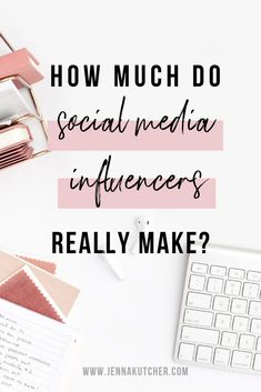 Have you wondered how much social media influencers actually make? It's not something people talk about freely. If you're thinking about… Instagram Marketing Tips, Instagram Tips, Social Media Influencer, Influencer Marketing, Social Media Tips, Social Media Marketing, Affiliate Marketing, Online Marketing, Make Money Blogging