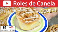 CÓMO HACER ROLES DE CANELA | Vicky Receta Facil