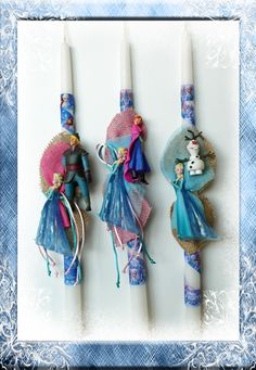 Palm Sunday, Candles, Christmas Ornaments, Disney Frozen, Holiday Decor, Christmas Jewelry, Candy, Candle Sticks, Christmas Decorations