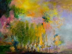 "Rikka Ayasaki; Painting, ""Landscape 7122 (New artwork)"" #art"