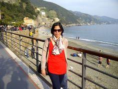 Monterosso beach, Cinque Terre, Italian Riviera