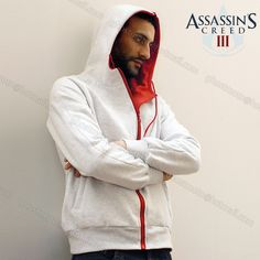 Cheap hoodie cat, Buy Quality costume jewelry home parties directly from China hoodie boy Suppliers:          Assassin's Creed Costume Jacket  Assassin's Creed 3 Brotherhood  DESMOND Costume Hoodie White &n