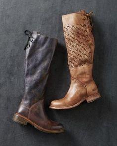 Bedstu® Back-Lace Boots