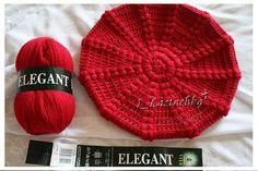 Esta boina que encontré en Internet es muy linda de tejer y queda súper  vistosa en un color rojo como el de la foto. A tejer muchas y. a5b1e283507