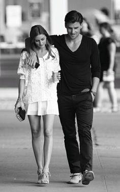 couple, Olivia palermo and Johannes Huebl