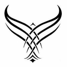"""Képtalálat a következőre: """"gaelic symbols, wings, phoenix"""" Body Art Tattoos, Small Tattoos, Tattoos For Guys, Cool Tattoos, Tatoos, Small Eagle Tattoo, Eagle Tattoos, Tribal Tattoos, Bracelet Tatoo"""