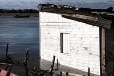 El litoral afectado por la creciente del paraná