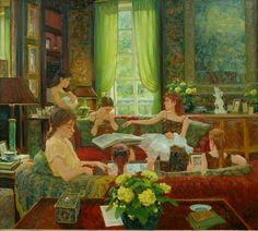Il mondo di Mary Antony: I dipinti dal vivo di David Hettinger
