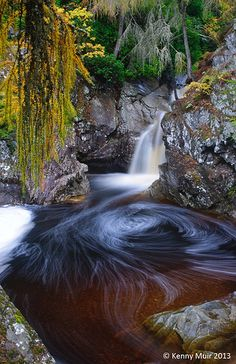Bruar Falls, Pitlochry, Scotland