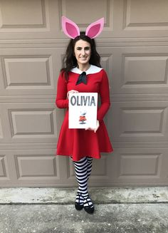 Olivia the Pig Halloween Costume  sc 1 st  Pinterest & I Want to be a Super Teacher: Olivia Costume and More - Getting ...