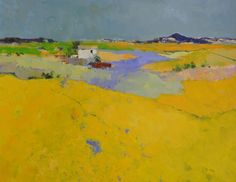 Provence by Jan Groenhart, Dutch artist