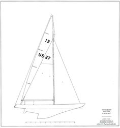 Sparkman & Stephens: Design 2270 - 12-Meter Racing Yacht - Enterprise