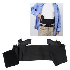 Concealed Elastic Belly Band Holster - Leatherneck for Life USMC Gear