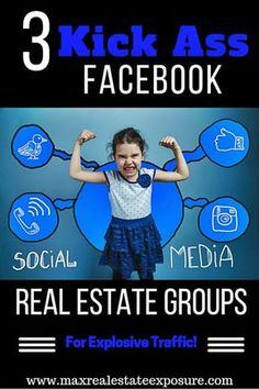 The Best Facebook Real Estate Social Media Groups For Realtors: http://www.maxrealestateexposure.com/best-real-estate-social-media-groups/