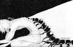 Tokyo Ghoul- Centispine ||| Kaneki Ken ||| Tokyo Ghoul Fan Art by rosaraeee on Tumblr