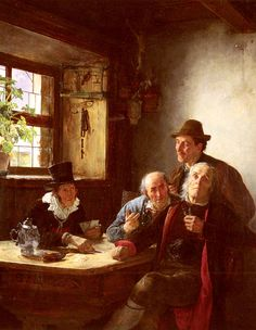 The Fortune Teller by Alfons Spring, (German, 1843-1908)