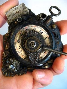 Pocket watch/time machine by Don Pezzano.
