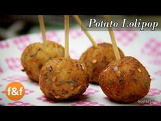 potato lollipop recipe is a quick snacks recipe, evening snacks recipe, recipes in hindi. A quick evening snack for kids, make also ideal Indian breakfast recipe. (snacks for school indian) Potato Snacks, Tea Snacks, Snacks Für Party, Quick Snacks, Healthy Snacks For Kids, Indian Snacks For Kids, Quick Indian Snacks, Appetizer Dishes, Easy Appetizer Recipes