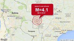 Disso Voce Sabia?: Terremoto de 4.1 pontos é registrado a 88 km de Miranda, MS