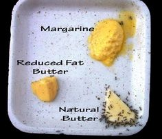 Butter-margarine