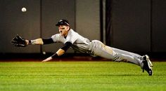 Evan Marzilli in the CWS - Awesome catch in game v. Florida!
