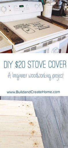 Woodworking Ideas Old DIY Stove Cover / Noodle Board. Ideas Old DIY Stove Cover / Noodle Board.