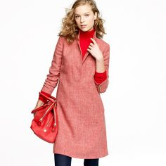 J. Crew Collection Carriage Coat Dress 2011