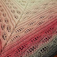 Thassos Mosaic Crochet Blanket instant download PDF pattern | Etsy Crochet Cable, Crochet Chart, Free Crochet, Shawl Patterns, Pdf Patterns, Crochet Patterns, Crochet Triangle, Fingering Yarn, Moss Stitch