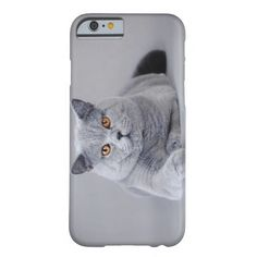 British shorthair cat barely there iPhone 6 case