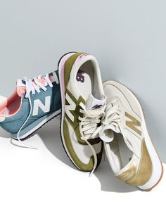 AUG '15 Style Guide: J.Crew women's New Balance® for J.Crew 620 sneakers.