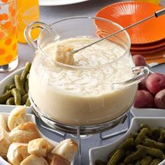 Three-Cheese Fondue~Award winning from Taste of Home