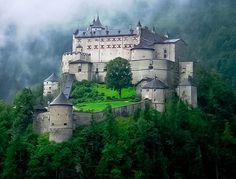 Castle Hohenwerfen, Werfen, Salzburg, Austria