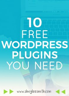 Ten of the very best (and free) Wordpress plugins to improve, secure, and enhance your blog or website.
