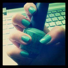 Gorgeous new OPI nail varnish.