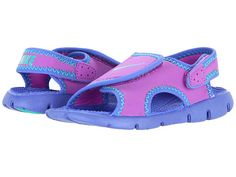 Nike Kids Sunray Adjust 4 (Infant/Toddler) Black/Digital Pink/Pure Platinum - Zappos.com Free Shipping BOTH Ways
