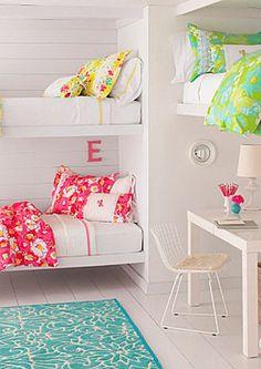 Dormitorios para tres, habitacion de niños #decoracióninfantil #ideasparadecorarelcuartodelosniños #dormitorioinfanti
