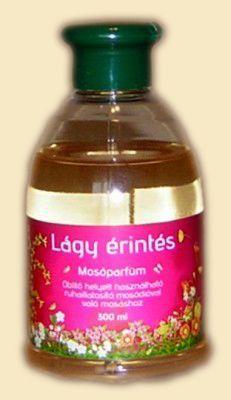 Lágy érintés mosóparfüm, az egyik legnőiesebb illatunk