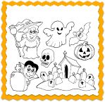 Halloween Coloring Activity and Halloween Song for Kids!