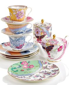 I've always loved tea sets and have been a childhood passion of mine. Someday I'd like to have a real adult tea set!