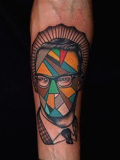 Artistic Portrait Tattoos by Pietro Sedda