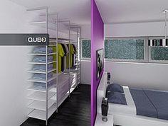 """Résultat de recherche d'images pour """"armario detrás de cabecero cama"""""""
