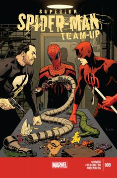Superior Spider-Man Team-Up #9 cover