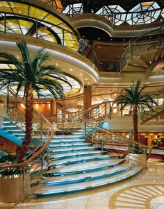 Inside Princess Cruise <3  So Beautiful Can't Wait To Get There