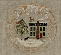 Love this--hope to update soon with who designer is!  FOUND IT! Lone Elm Lane-Snow Angel
