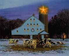 """All is Calm  by Bonnie Mohr...I LOVE OLD VINTAGE BARNS....the simplicity of """"beautiful"""" applies to this old barn"""