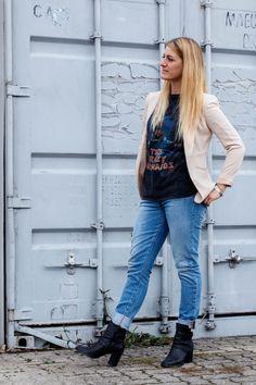 Levi's 501 Jeans  mit Shirt und Blazer  - gooseberry pictures