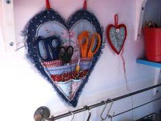 Heart-shaped Scissor Keeper: Tutorial