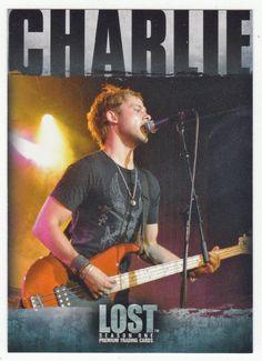 Lost - Season 1 # 58 Charlie Pace: Rocker - Inkworks - 2005